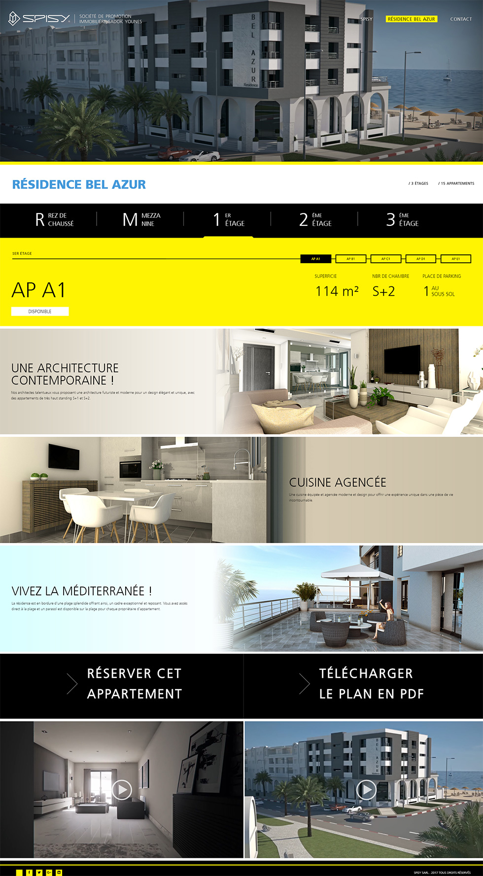 Webdesign Corporate, Spisy Promoteur Immobilier